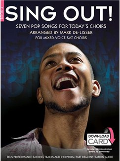 Sing Out! Seven Pop Songs For Today's Choirs - Book 4 (Book/Audio Download) Books and Digital Audio | SAT, Piano Accompaniment