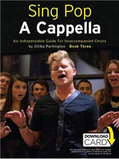 Sing Pop A Cappella - Book Three (Book/Audio Download) Books | SATB, Piano Accompaniment