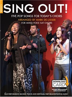Sing Out! 5 Pop Songs For Today's Choirs - Book 5 (Book/Audio Download) Books and Digital Audio | SAT