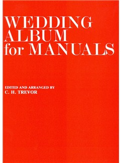 Wedding Album For Manuals Livre | Orgue