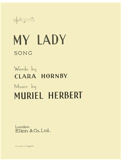 Muriel Herbert: My Lady Books | Voice, Piano Accompaniment