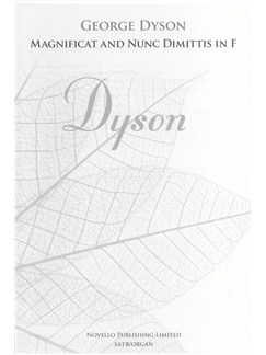 George Dyson: Magnificat And Nunc dimittis In F (New Engraving) Books | SATB, Organ Accompaniment