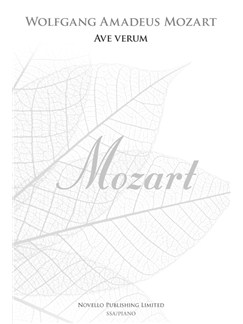 W.A. Mozart: Ave Verum - SSA (New Engraving) Livre | SSA, Accompagnement Piano, Chorale