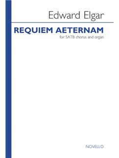 Edward Elgar: Requiem Aeternam (Nimrod) - SATB Books | SATB, Organ Accompaniment