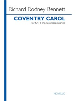 Richard Rodney Bennett: Coventry Carol Books | SATB