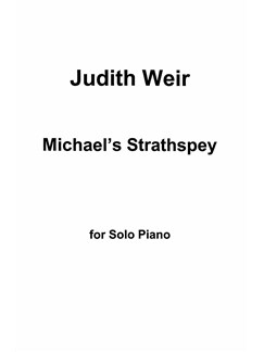 Judith Weir: Michael's Strathspey For Piano Books | Piano