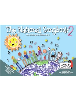 The National Songbook 2: 50 Great Songs For Children To Sing! (Book/Download Card) Buch und Digitale Audio | Gesang, Klavierbegleitung