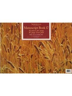 Novello Manuscript Book 17: A3 Landscape - Score Books |
