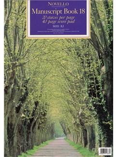 Novello Manuscript Book 18: A3 - Score Books |