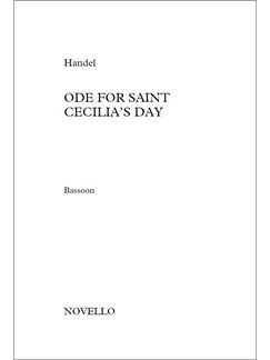 Ode For Saint Cecilia's Day (Basson, Timpani, Flute, Oboe 1 and  Trumpet 1& 2) Books | Bassoon, Timpani, Flute, Oboe, Trumpet