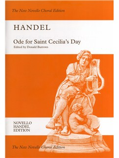 G.F. Handel: Ode For Saint Cecilia's Day - The New Novello Choral Edition Books | Soprano, Alto, Tenor, SATB, Piano Accompaniment