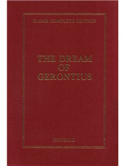 Edward Elgar: The Dream Of Gerontius Op.38 Complete Edition (Full Score - Cloth) Books | SATB, Orchestra