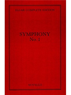 Edward Elgar: Symphony No.1 in A Flat Op.55 Complete Edition (Full Score - Paper) Books | Orchestra