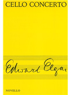 Edward Elgar: Cello Concerto Miniature Score Books | Cello, Orchestra