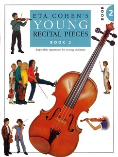Eta Cohen: Young Recital Pieces - Book 2 Books | Violin, Piano Accompaniment