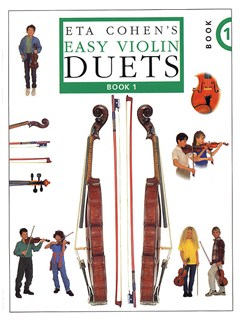 Eta Cohen: Easy Violin Duets - Book 1 Books | Violin (Duet)
