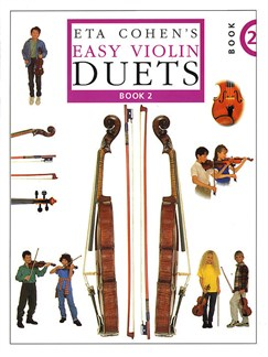 Eta Cohen's Easy Violin Duets - Book 2 Books | Violin (Duet)