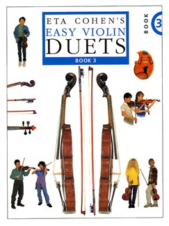 Eta Cohen's Easy Violin Duets Book 3 Books | Violin (Duet)