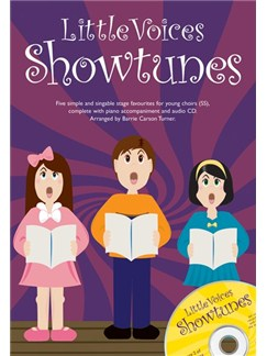 Little Voices - Showtunes Books and CDs | 2-Part Choir, Piano Accompaniment