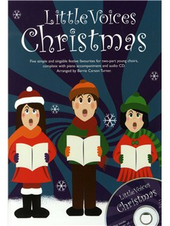 Little Voices - Christmas Books and CDs | 2-Part Choir, Piano Accompaniment