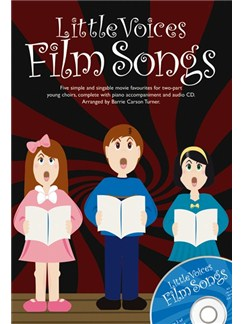 Little Voices - Film Songs Books and CDs | 2-Part Choir, Piano Accompaniment
