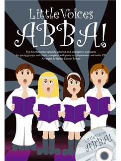 Little Voices - Abba! Books and CDs | 2-Part Choir, Voice, Piano Accompaniment