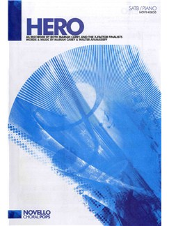 Mariah Carey: Hero (SATB/Piano) Books | SATB, Piano Accompaniment