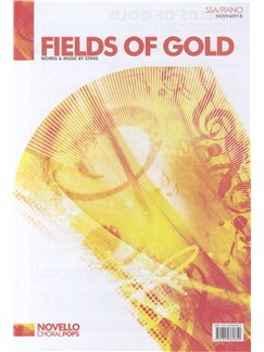 Sting: Fields Of Gold (SSA/Piano) Books | SSA, Piano Accompaniment