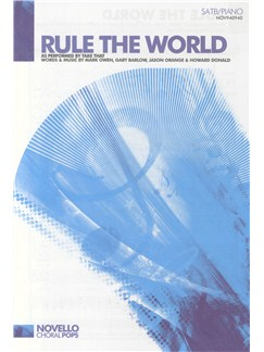 Take That: Rule The World (SATB/Piano) Livre | SATB, Accompagnement Piano