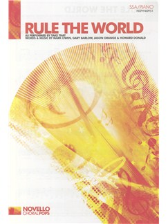 Take That: Rule The World (SSA/Piano) Books | SSA, Piano Accompaniment