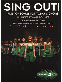 Sing Out! 5 Pop Songs For Today's Choirs - Book 1 Books and CDs | SAT, Piano Accompaniment