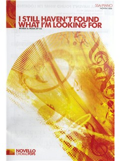 U2: I Still Haven't Found What I'm Looking For (SSA/Piano) Livre | SSA, Accompagnement Piano