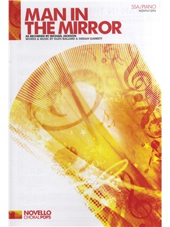 Michael Jackson: Man In The Mirror (SSA/Piano) Books | SSA, Piano Accompaniment