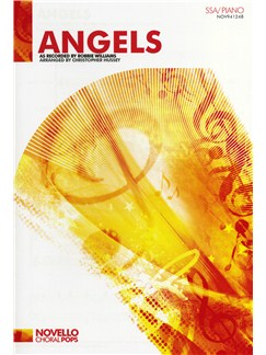 Robbie Williams: Angels (SSA/Piano) Books | SSA, Piano Accompaniment