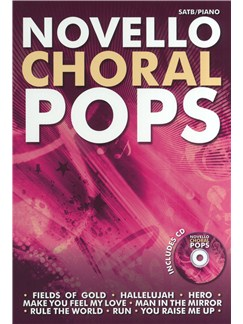 Novello Choral Pops Collection - CD Edition Books and CDs | SATB, Piano Accompaniment