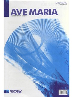 Giulio Caccini: Ave Maria - SATB/Piano Books | SATB, Piano Accompaniment
