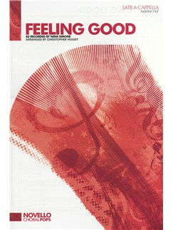 Nina Simone: Feeling Good (SATB A Cappella) Books | SATB