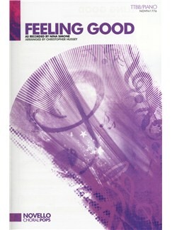 Nina Simone: Feeling Good (TTBB/Piano) Books | TTBB, Piano Accompaniment