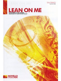 Bill Withers: Lean On Me - SSA/Piano Buch | SSA (Frauenchor), Klavierbegleitung