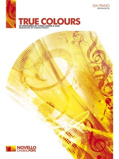 Cyndi Lauper: True Colours - SSA/Piano Books | SSA, Piano Accompaniment