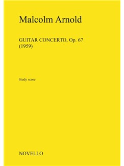 Malcolm Arnold: Guitar Concerto Op.67 Books | Flute, Clarinet, Horn, Guitar, String Instruments