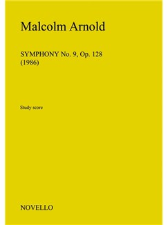 Malcolm Arnold: Symphony No.9 Op.128 (Study Score) Books | Orchestra