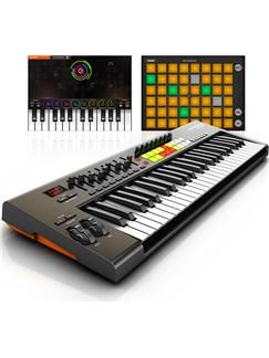 Novation: Launchkey 49 Keyboard Controller Instruments | Keyboard