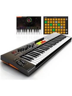 Novation: Launchkey 61 Keyboard Controller Instruments | Keyboard