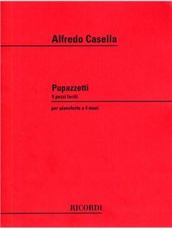 Alfredo Casella: Pupazzetti Books | Piano Duet
