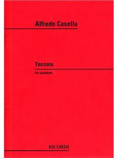 Alfredo Casella: Toccata Op.6 Books | Piano