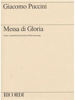 Giacomo Puccini: Messa Di Gloria (Vocal Score) Books | SATB, Piano Accompaniment