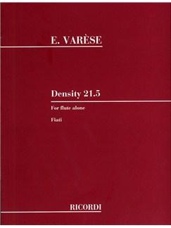 Edgard Varese: Density 21.5 Books | Flute