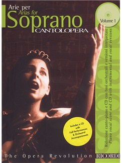 Cantolopera: Arias For Soprano - Volume 1 Books and CDs | Soprano, Piano Accompaniment