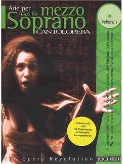 Cantolopera: Arias For Mezzo Soprano - Volume 1 Books and CDs | Mezzo-Soprano, Piano Accompaniment